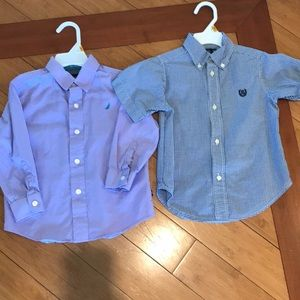 Boys 3T shirts. Chaps and Nautica
